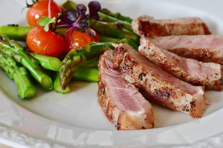 maso se zeleninou