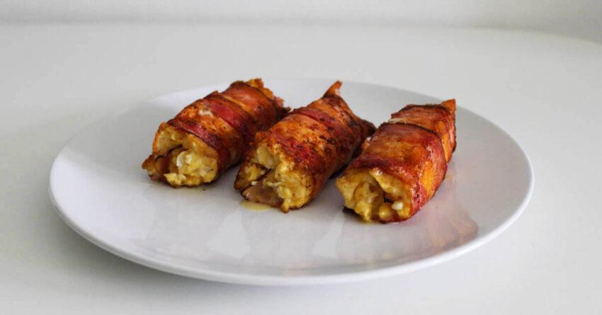 slaninove rolky s vajecinou
